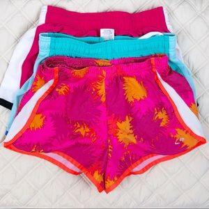 Other - 3 Pair Bundle of Girls Athletic Shorts• 10/12
